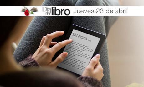 Día del Libro en Amazon: Kindle Paperwhite rebajado a 99€ y ebooks a 1€.