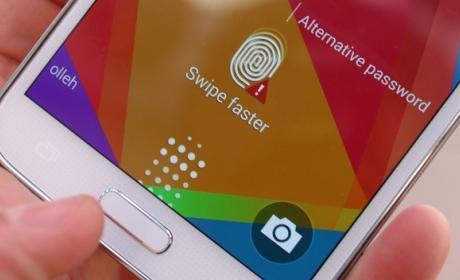 Hackers extraen la huella dactilar de un Samsung Galaxy S5.