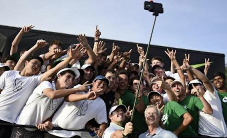 Wimbledon prohibe el Palo Selfie en su torneo de tenis