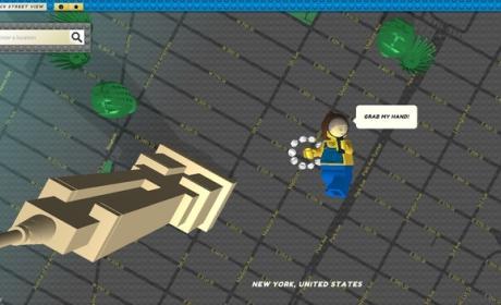 Ya está aquí Google Street View en versión Lego, Brick Street View.