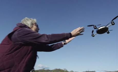 dron cámara