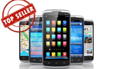 Los 5 smartphones Android más populares del mes en eBay