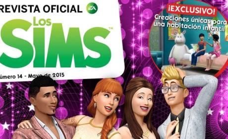 La Revista Oficial de los Sims 14 se va de fiesta con el pack de accesorios Los Sims 4 Fiesta Glamurosa.