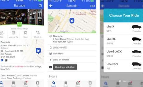 Uber se expande hasta Foursquare