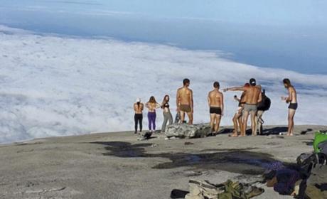 turistas desnudas