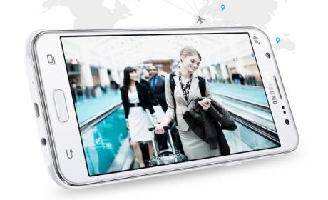 Samsung Galaxy J5 y J7 son los primeros con LED Flash frontal.