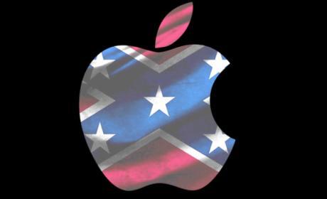 apple bandera confederada