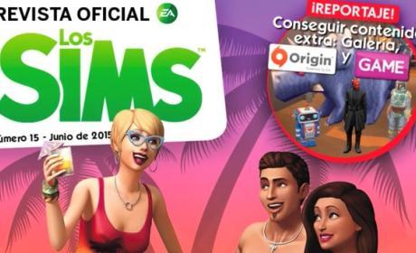 Revista Oficial de los Sims Número 15, descárgala gratis