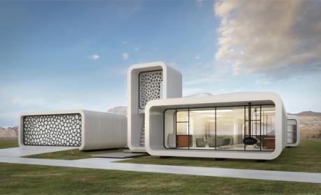 Así será el primer edificio construido totalmente con una impresora 3D del mundo