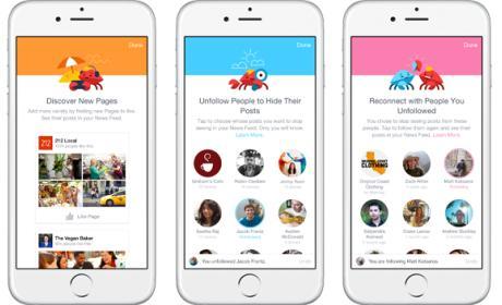 Facebook lanza nuevas opciones para personalizar las noticias