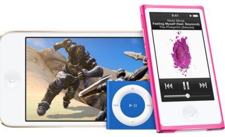 Nuevo iPod Touch de Apple con el procesador y la cámara del iPhone 6.