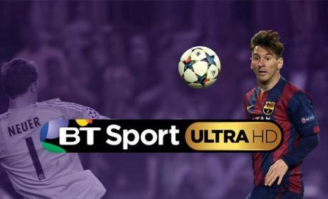 BT estrena el primer canal deportivo en 4K Ultra HD.