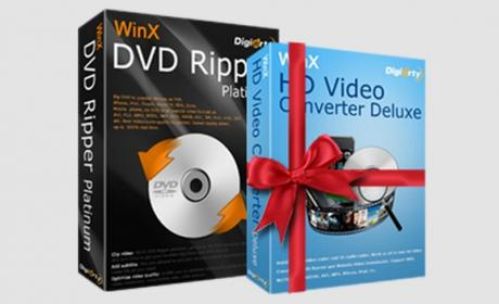 WinX DVD Ripper Platinum convierte gratis tus DVDs al formato Windows 10.