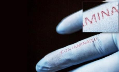 Una tinta que detecta bacterias para evitar enfermedades