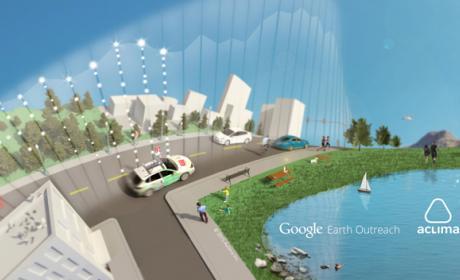 Los coches de Google harán un mapa de la contaminación