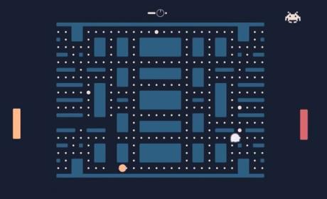 Pacapong es el juego definitivo PacMan Pong Space Invaders