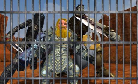 servidor prisión
