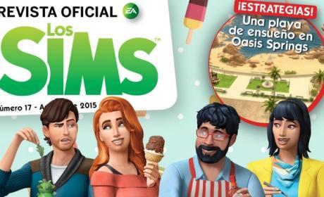 Descarga gratis la Revista Oficial de los Sims Número 17.
