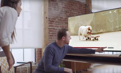 Un dispositivo convierte tu tele en una pantalla táctil