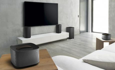 Philips muestras sus home cinemas y barras de sonido