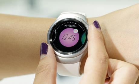 El smartwatch Samsung Gear S2 se maneja sin tocar la pantalla