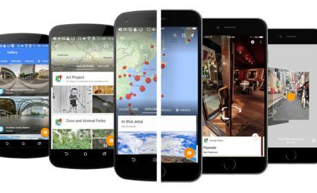 Google lanza la app de Street View para iOS y Android