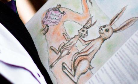 La historia habla del conejo Carlitos