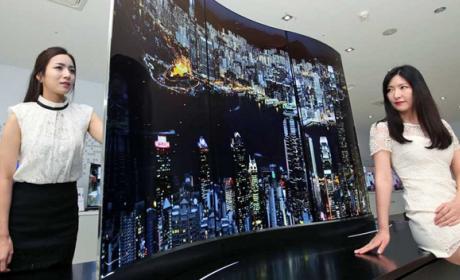 LG estrena un televisor 4K Ultra HD OLED que se ve por ambos lados.