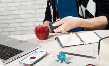 Un escáner para ver la composición de la comida con el móvil
