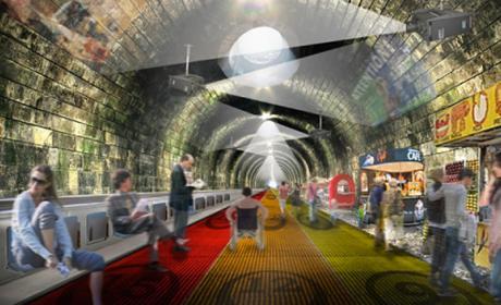 cambiar metro por cinta transportadora