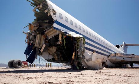 Los asientos más seguros para sobrevivir a un accidente de avión
