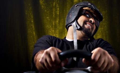 Hombre detenido haber aprendido conducir PlayStation