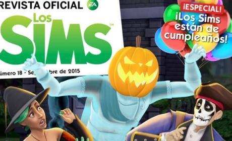 La Revista Oficial de los Sims 18 celebra Halloween 2015