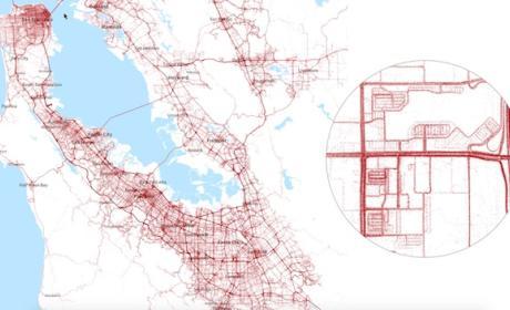 Tesla mapea los caminos del mundo