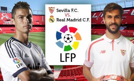Cómo ver online y en directo el Sevilla vs Real Madrid de Liga en Internet por streaming