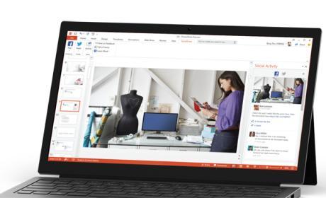 Comparte presentaciones de PowerPoint en las redes sociales