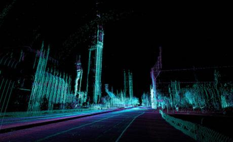 Así es como luce Londres a los ojos de un coche autónomo