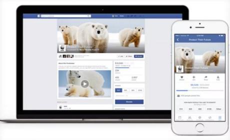 Facebook lanza herramienta para organizaciones benéficas