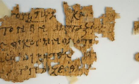 fragmento Nuevo Testamento