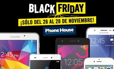 Black Friday 2015: ofertas en móviles, tablets y accesorios en Phone House