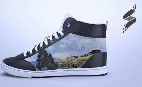 ShiftWear zapatillas tinta electrónica cambian diseño