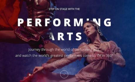 Google lanza Performing Arts, danza y teatro inmersivo en 360º