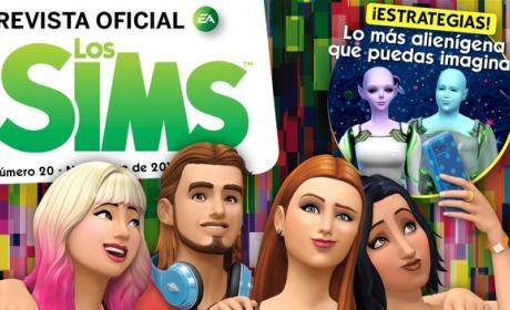 Descarga gratis la Revista Oficial de los Sims número 20