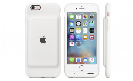 Apple lanza una funda para iPhone 6S con 25 horas de autonomía