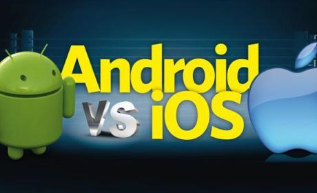 La tasa de adopción de Android es muy inferior a la de iOS