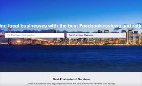 Facebook podría competir con Yelp