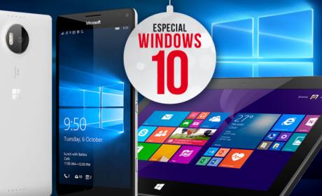 Los mejores móviles y tablets con Windows 10