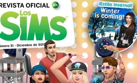 La Revista Oficial de los Sims 21 te trae regalos de Navidad