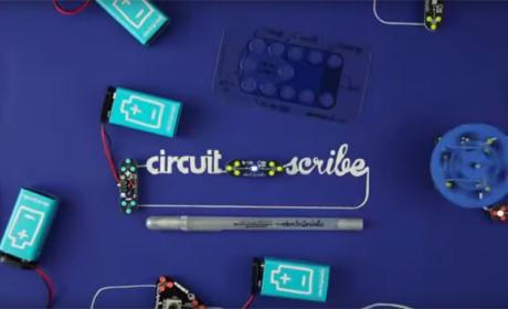 Crea circuitos electronicos con un boli