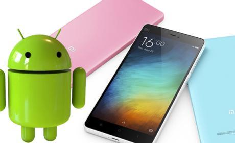 Xiaomi Mi3, Mi4 y MyNote pronto con Android 6.0 Marshmallow